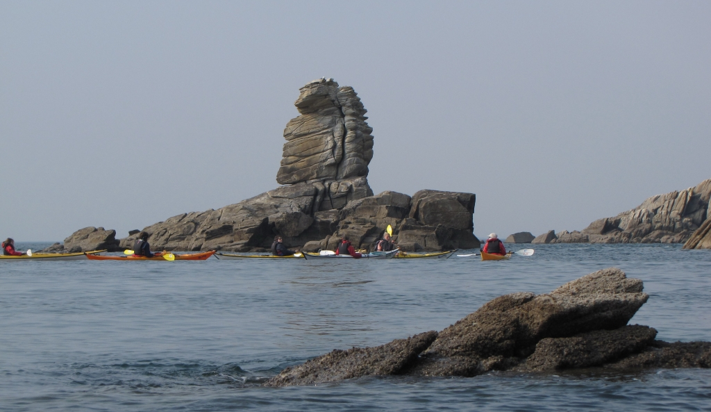 randonnee journee sillages kayak de mer quiberon morbihan bretagne sud carnac