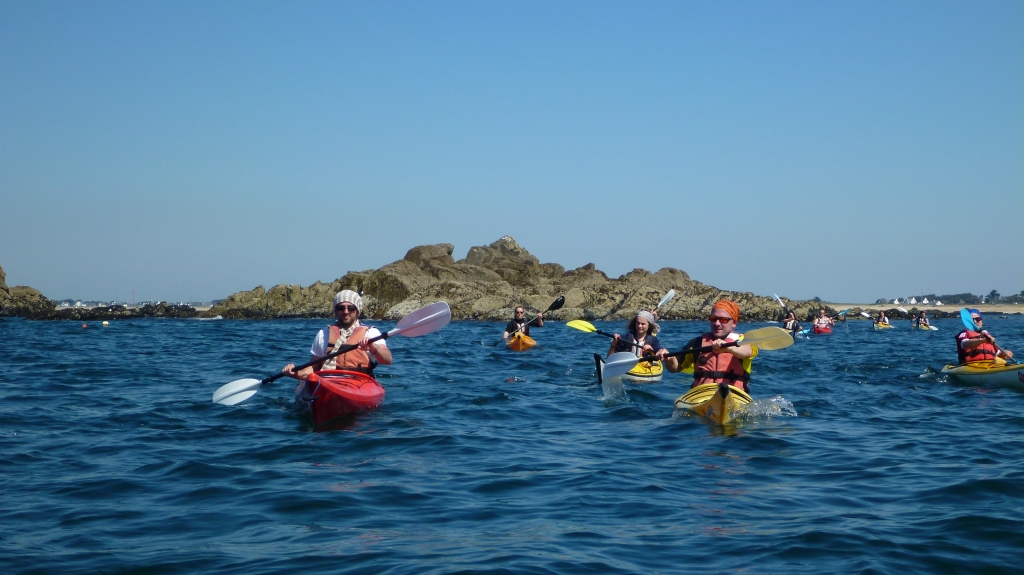 Stages Week-End Kayak-bretagne morbihan quiberon carnac trinite sillages