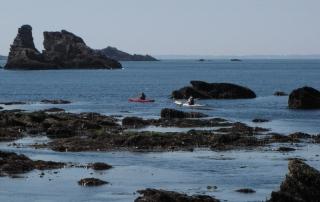 Grandes-marees-carnac-quiberon-morbihan-bretagne-kayak-de-mer