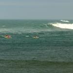Bretagne-morbihan-quiberon-kayak-sillages-grosse-houle-2