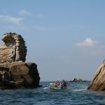 kayak en famille sur la presqu'île de Quiberon-beg-en-aud