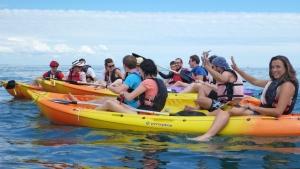 Prestations Kayak Stand up paddle quiberon morbihan Bretagne promenade amis famille