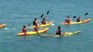 Groups-sea-kayak-quiberon-morbihan-brittany-carnac-trinite