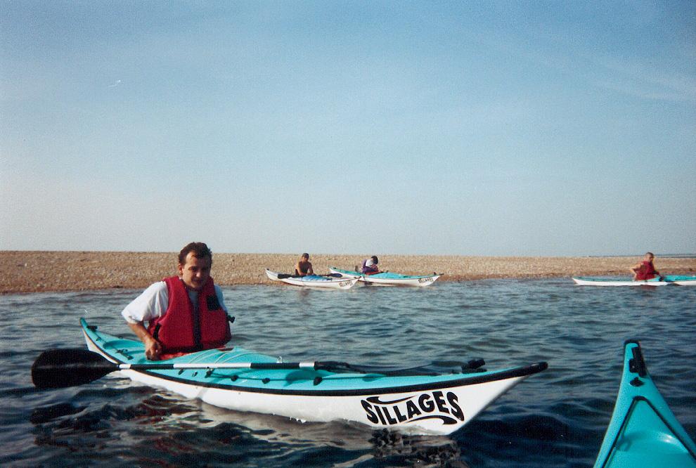 kayak-bretagne-morbihan-quiberon-carnac-debut-1994