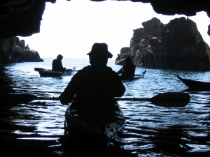 week-end-stage-kayak-bretagne-morbihan-quiberon-carnac-trinite-grotte