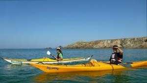 stages kayak adultes Bretagne morbihan quiberon kayak de mer individuels