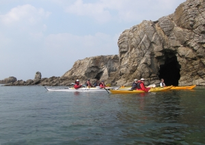 sea kayak courses brittany-morbihan-quiberon-carnac-trinite