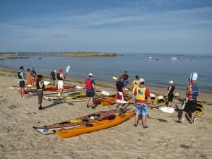 Localisation sillages-kayak-mer-bretagne-morbihan-quiberon-carnac
