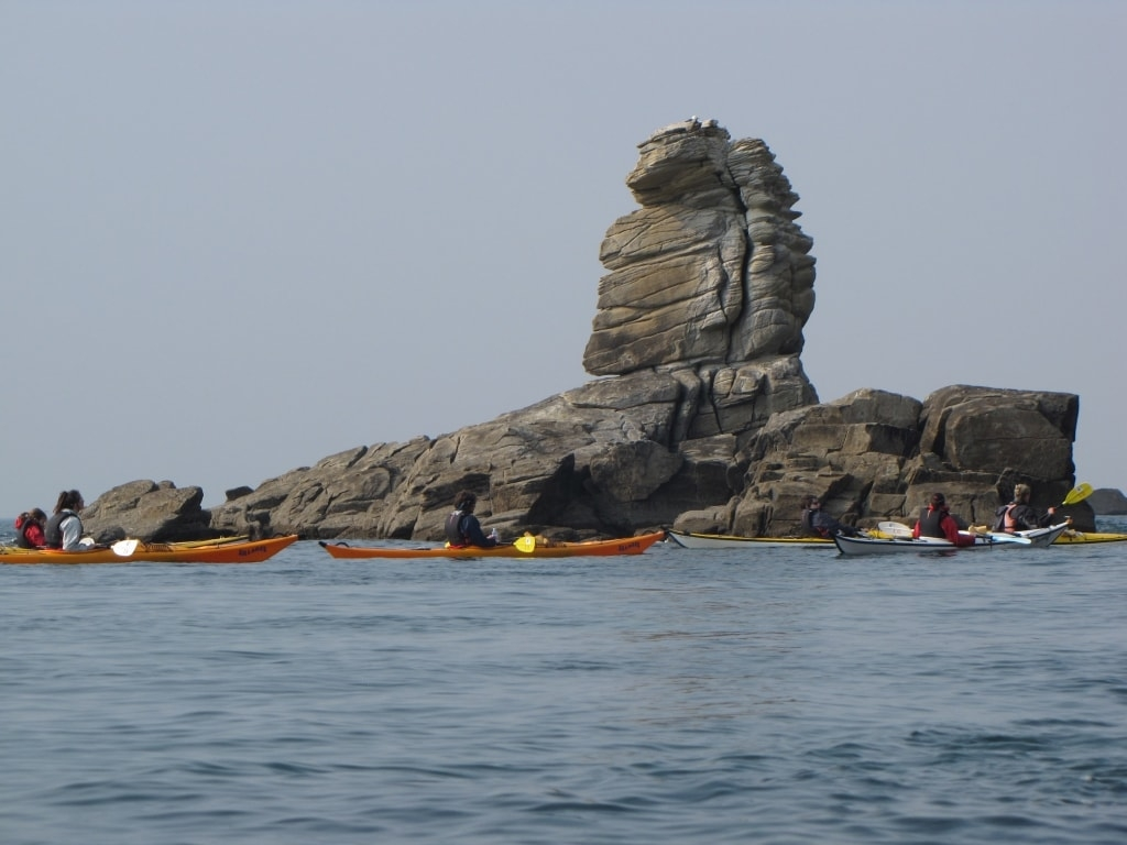Sillages Kayak-Stand Up Paddle Bretagne Morbihan Quiberon canoe