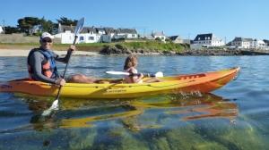 Promenades kayak-Groupes-quiberon-morbihan-bretagne-carnac-famille-enfants