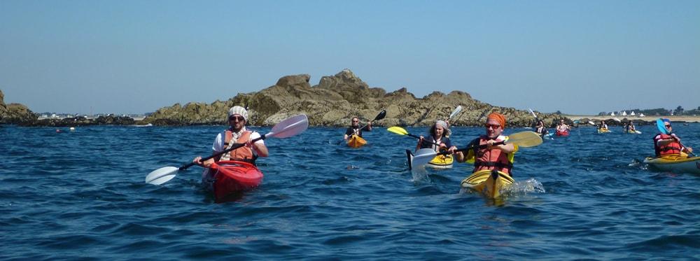 kayak-bretagne-morbihan-quiberon-sillages
