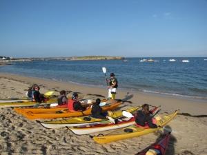 Balades-Kayak-famille-quiberon-morbihan-bretagne-canoe-nature-préparation