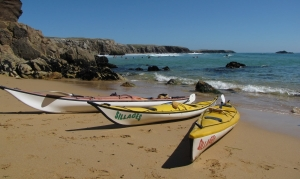 sea kayak courses week end brittany-morbihan-quiberon-carnac-trinite