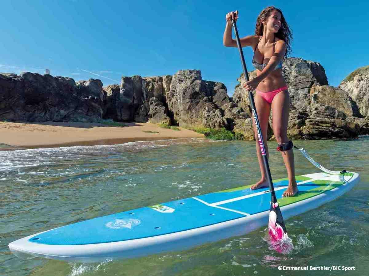 Kayak Stand Up Paddle Quiberon Morbihan bretagne surf glisse BIC sport