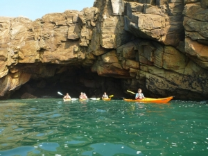 Prestations Kayak Stand up paddle quiberon morbihan Bretagne balades individuels famille