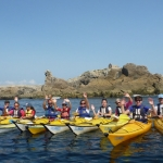 Kayak Stand Up Paddle Quiberon Morbihan sillages Bretagne le Lion du percho