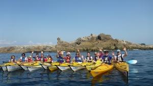 Kayak Stand Up Paddle Quiberon Morbihan sillages Bretagne le Lion du percho