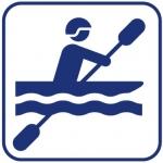picto kayak quiberon morbihan bretagne sillages