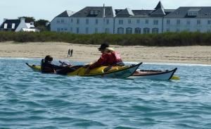 Kayak stage bretagne morbihan quiberon sillages recupération exterieure