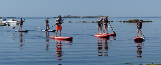 Stand up Paddle Sillages quiberon morbihan bretagne famille-1200-min