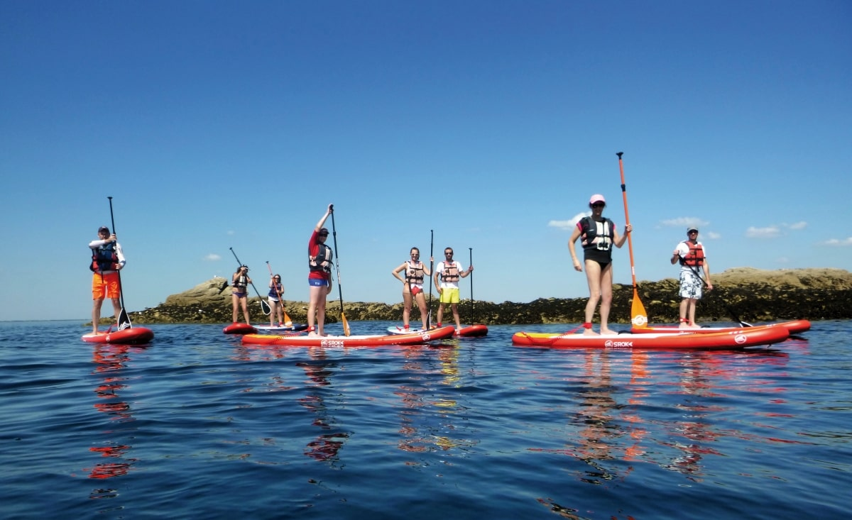 Learn how to stand up paddle board with Sillages