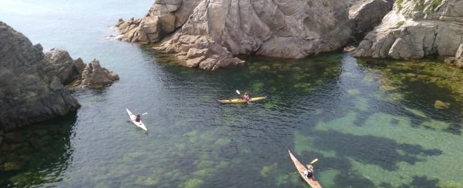 kayak quiberon morbihan bretagne cote sauvage parfaite