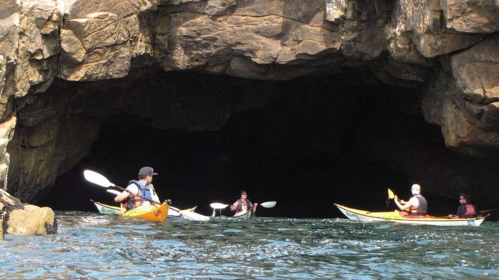 Kayak et Stand Up Paddle Quiberon Morbihan GROTTE