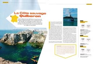 Canoë Kayak Magazine sillages quiberon morbihan bretagne